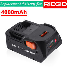 18V Lithium-Ion Power Tool Battery for RIDGID R840084 R840086 R840087 AC840085