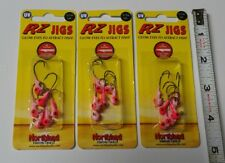 RZ Jigs 1/16oz. Northland fishing tackle UV Pink 3×(6-packs) Lot Walleye Crappie