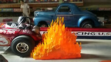 Flames of Fire Custom Made Idea for Diorama Building Houses 1/25 1/24 1/18