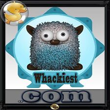Whackiest.com Great Domain for Shocking Stories, Art, Videos, Sell Strange Items