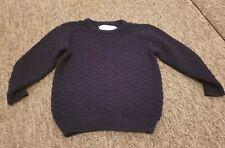 Zara navy blue jumper age 3-4 years