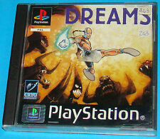 Dreams - Sony Playstation - PS1 PSX - PAL