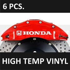 Honda Premium Brake Caliper Decals Stickers Emblem Logo Civic ACCORD Fit CR-V