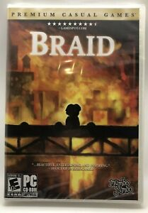 Video Game PC Braid 60 puzzles to solve NEW SEALED