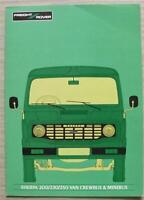FREIGHT ROVER SHERPA 200/230/250 VAN Crewbus MINIBUS Sales Brochure c1979 #FR3