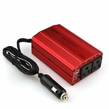 Bestek 12V Dc to 110V Ac Car 300W Power Inverter Usb Outlets Auto Truck Adapter