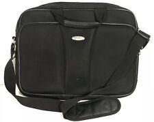 Samsonite Black 17 inch Laptop bag Travel Laptop Carrier Pockets Shoulder Strap