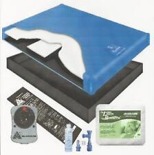60% Waveless Waterbed Mattress Liner Heater Mattress Pad Fill Drain Conditioner