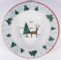 Vintage 1999 Meiwa Table Art Hudson Bay Soup Bowl 8 3/4'' Free Shipping