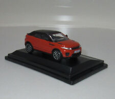 Oxford 76RREC001 00 PKW Range Rover Evoque Cabrio Phoenix orange