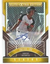 Lucius Fox SF Giants 2015 Elite Extra Edition Autograph Gold Status D/C 1/5
