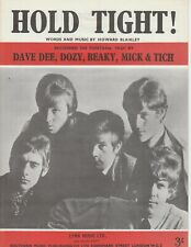 Hold Tight! - Dave Dee, Dozy, Beaky, Mick & Tich - 1966 Sheet Music