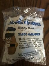 """McNugget Buddies """"Sarge McNugget""""  Open Package McDonald's 1988"""