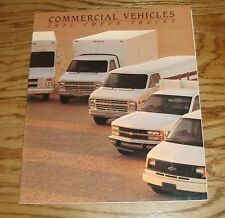 Original 1991 Chevrolet Commercial Vehicles Sales Brochure 91 Chevy Pickup Van