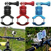 Aluminium Alloy Bicycle Motorcycle Handlebar Mount Holder Clamp for GoPro Camera