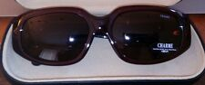 Charme Vintage Sunglasses Dark Red New Old Stock 7222