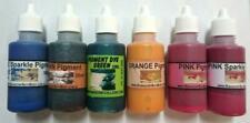 6 X Specialty Pigment Colours Liquid 30ml, Soaps,Bath,Crafts. Aust, Non bleeding