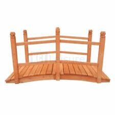 More details for salzburg wooden bridge for streams ponds decoration garden furniture outdoor