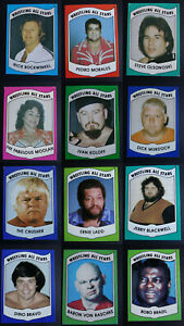 1982 Wrestling All Stars Wrestling Cards Series A And B You U Pick From List