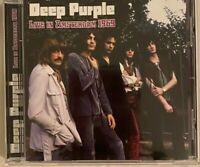 "DEEP PURPLE : ""Live in Amsterdam 1969"" (Soundboard) (RARE CD)"