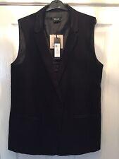 Ladies Villa Tuxedo Style Waistcoat Size X Large