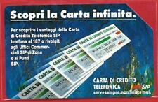 *@ LOTTO 1 di circa 100 carte telefoniche CARTA INFINITA - usate - assortite @*
