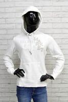 Felpa H & M Taglia Size M Donna Pullover Cardigan Maglione Cotone Woman Bianca