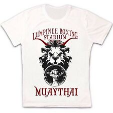 Lumpinee Estadio De Boxeo Muay Thai Artes Marciales Camiseta de estilo vintage y retro unisex 988