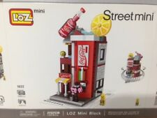 Mini Shops Set 4   ( Loz Building Blocks), supply with out  original box