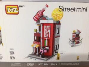 Coca Colla, Music , Book Mini Shops  with out  original box, Set 3