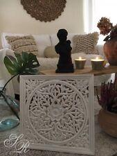 Affari* Wandornament Holz, white, 45x45cm, Wanddekoration,Wandbehang