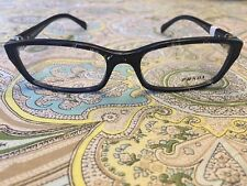 Authentic (Made in Italy) Prada Black Brand New Eyeglass 130 mm Frames