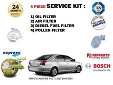 para Toyota Avensis 2.0 DT 2.2dt 2006-2009 Filtro antipolen Aceite Aire