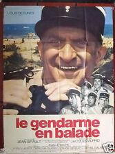 """Le Gendarme en Ballade {Louis de Funès} 47""""x63"""" French Movie Poster 70s"""