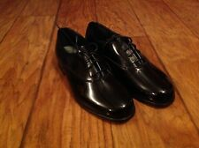 Vintage Men's BARCLAY Tuxedo Shoes Size 8W NEW
