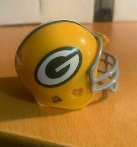 Riddell pocket pro football helmet Green Bay Packers TRADITIONAL gray facemask