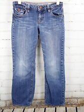 Gap Kids Straight Leg Jeans 1969 Boys Size 10 Plus Medium Wash Cotton Stretch