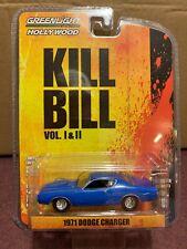 Greenlight  HOLLYWOOD  Kill Bill  1971 Dodge Charger