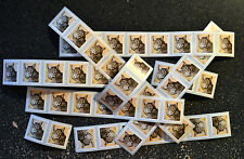 2015USA #4672a 1c Bobcat Coil (strips) of 50 Stamps From Roll Mint self adhesive