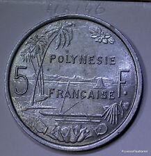 POLYNÉSIE FRANÇAISE - 5 Francs 1965 aca246