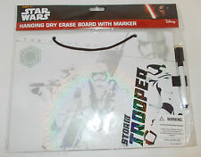 Star Wars First Order Stormtrooper Hanging Dry Erase Board with Marker