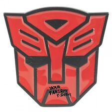 Transformers Autobot Symbol Licensed Red Belt  Buckle