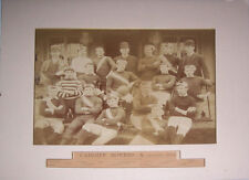 Cardiff Rovers 1889-90 Vintage Mounted Original Rugby Team photograph