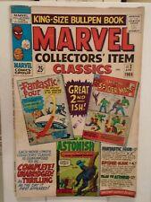 Marvel COLLECTORS' ITEM CLASSICS #2 (1966) Spider-Man, Jack Kirby, Steve Ditko