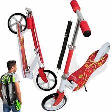 RETOURE Scooter Roller Kinderroller Cityroller Tretroller Kickroller Red