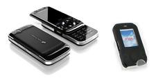 Cover Case Silicone (BLACK) ~ Sony Ericsson F305