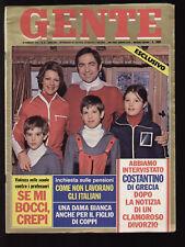GENTE 8/1978 GABRIELLA FERRI KAPPLER POLANSKI SANDRELLI MESSINGER MISS UNIVERSE