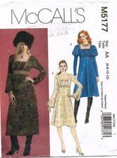 McCall's Misses' Dress Pattern M5177 Size 6-12 UNCUT