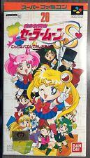 Bishoujo Senshi Sailor Moon S Puzzle Game Super Famicom SFC SNES Boxed w/Manual