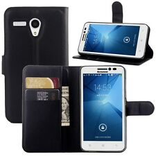 Litchi Texture Flip Leather Case Lenovo phone magnetic cover case wallet stand